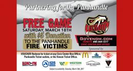 AMARILLO VENOM ANNOUNCE FREE GAME